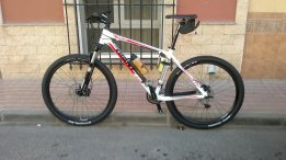 Mi bici para rutear